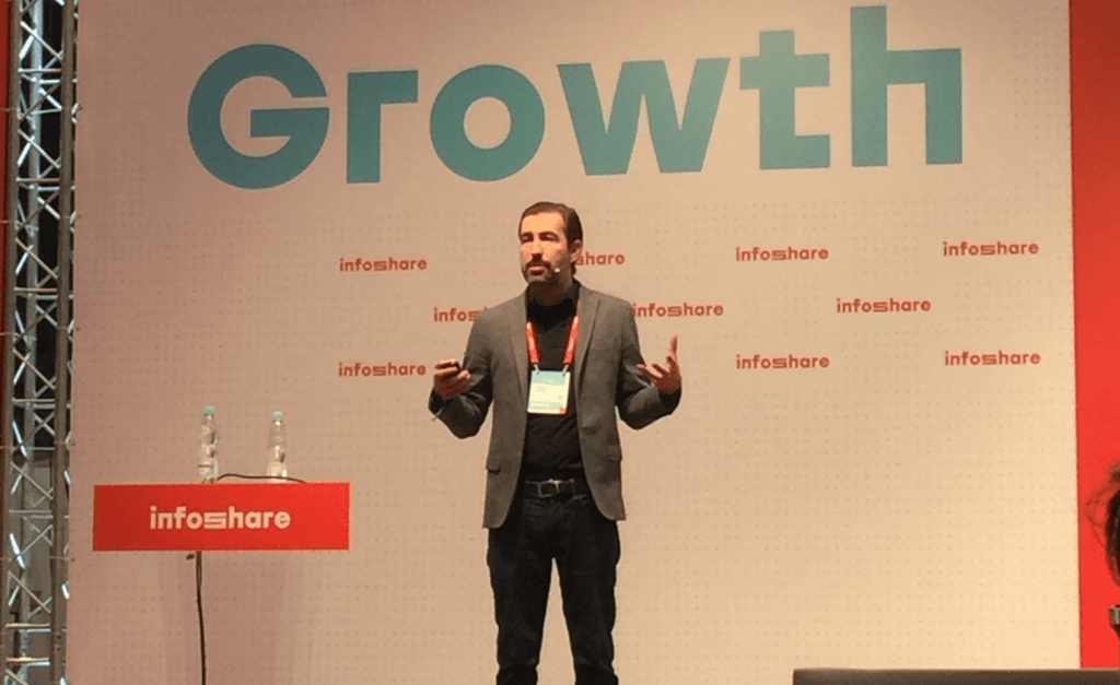 Sean Percival na Infoshare 2019