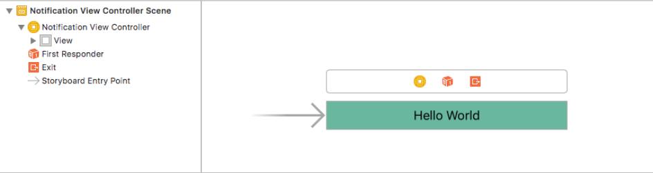result UserNotifications in iOS app