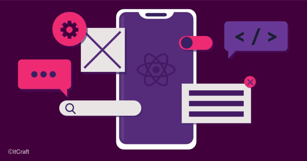 Mobile app development infographic -native
