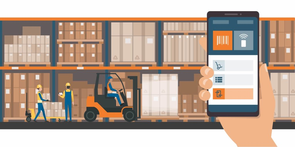 delivery services - mobile apps for transport