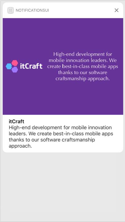options UserNotifications in iOS app