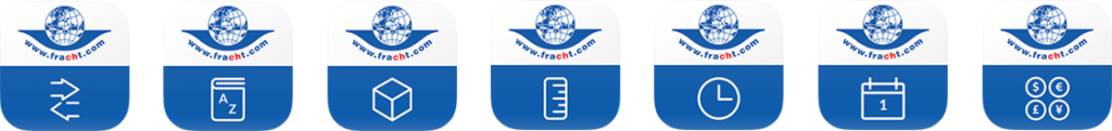 Mobile application for Fracht AG