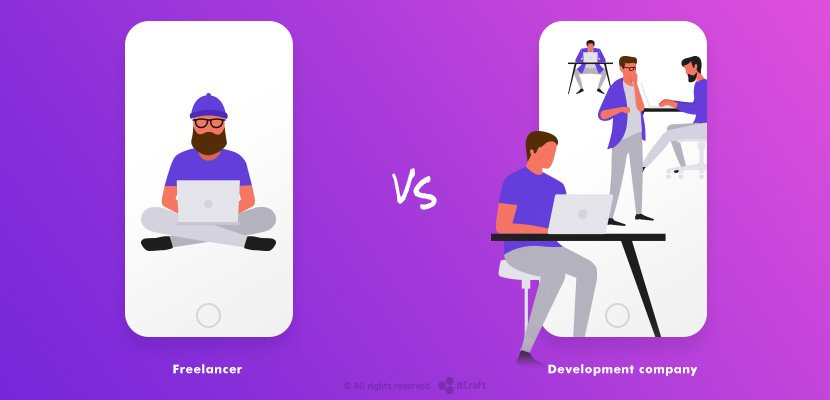 Freelancer vs. Development company