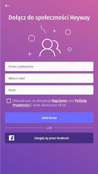 Heyway application portfolio screenshot 3