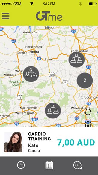 GTME application portfolio screenshot 3