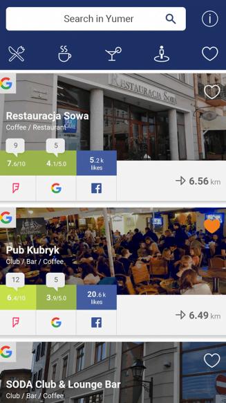 Yumer application portfolio screenshot 3