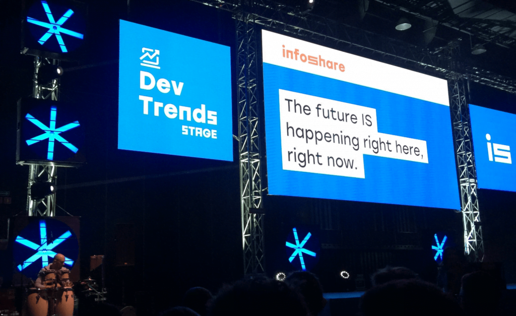 The Dev Trends Stage