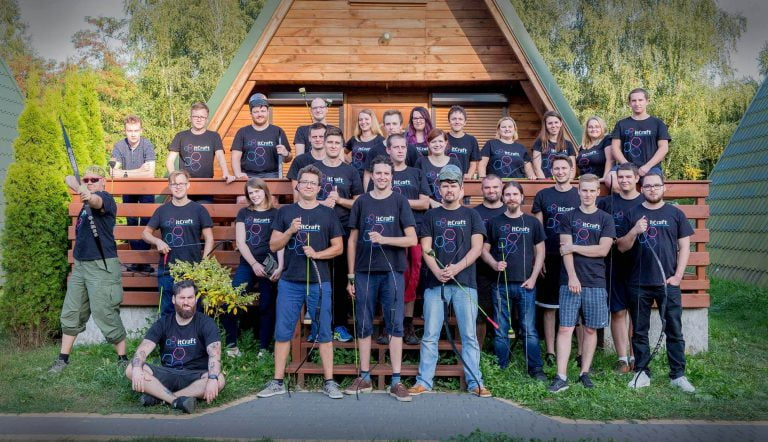itCraft team during team building trip