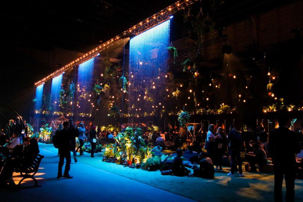 Slush Secret Garden - expo area