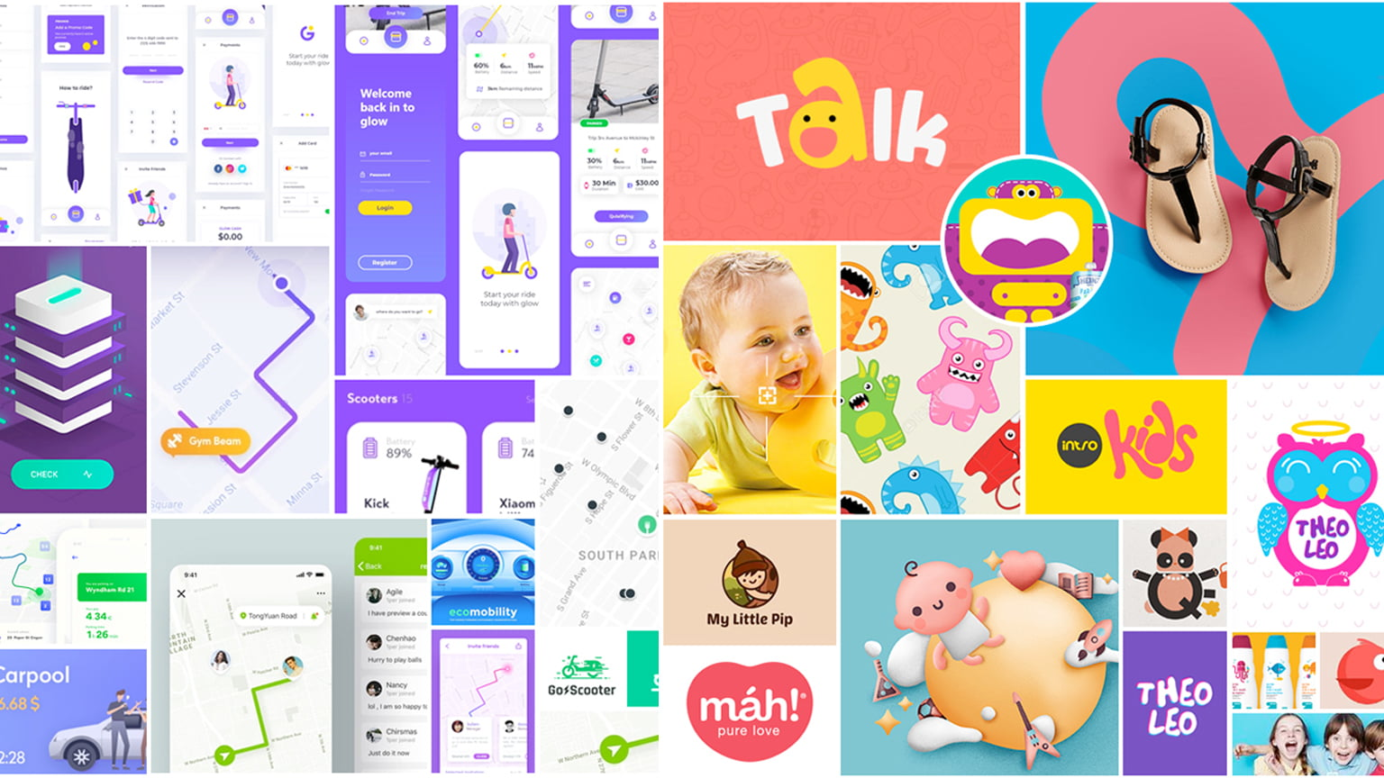 Moodboard In Ux Ui Mobile App Design Inspiration Matters Itcraft