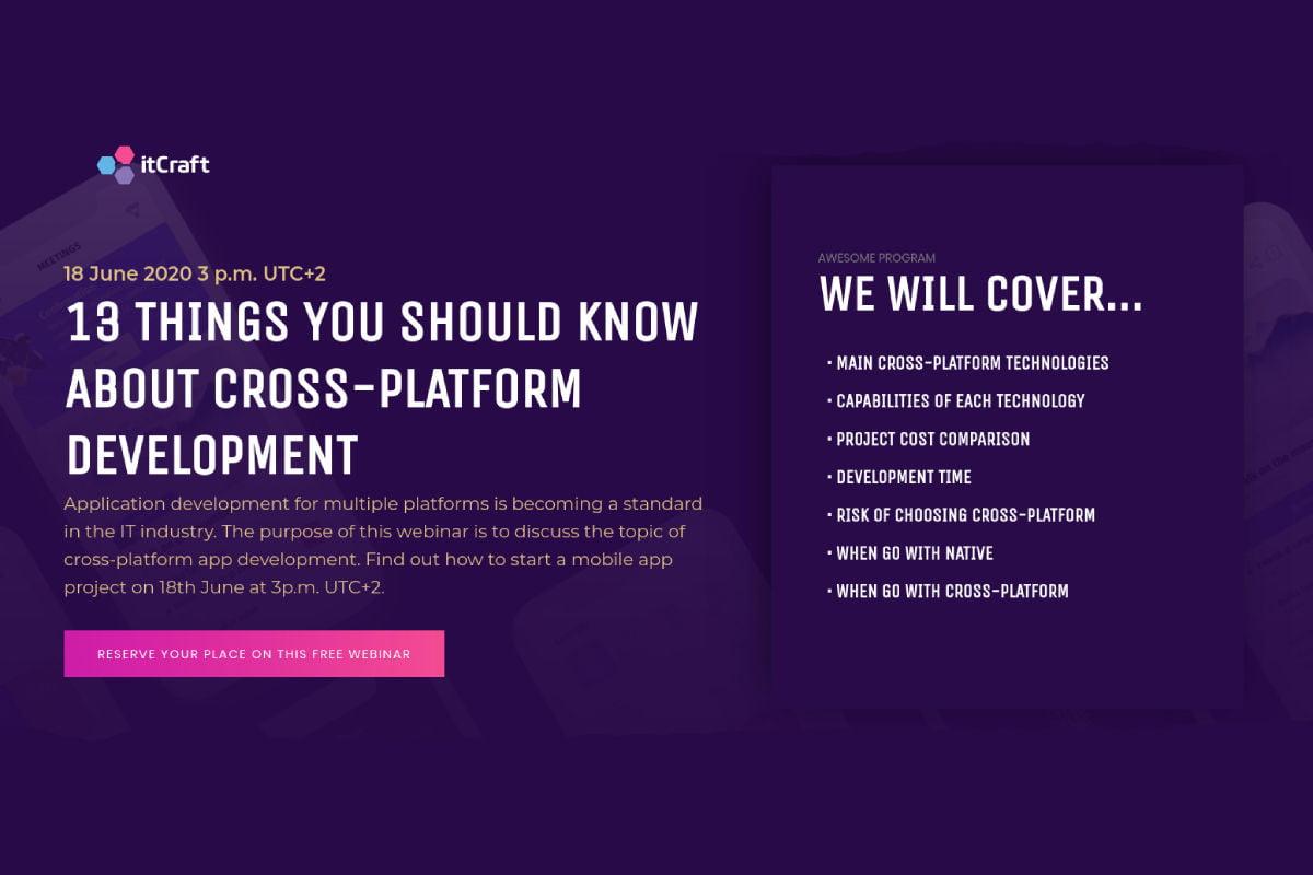 Webinar cross-platform