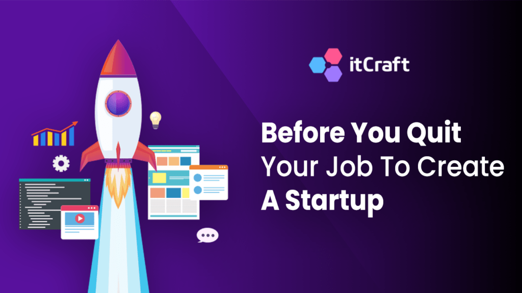 Before you quit your job to create a startup - webinar