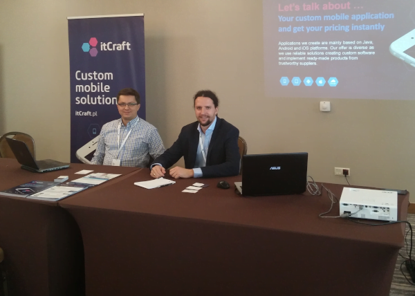 Karol Wegner and Bartosz Pieślak co-owners of itCraft