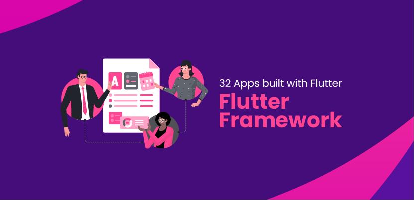 32 App built with Flutter Framework