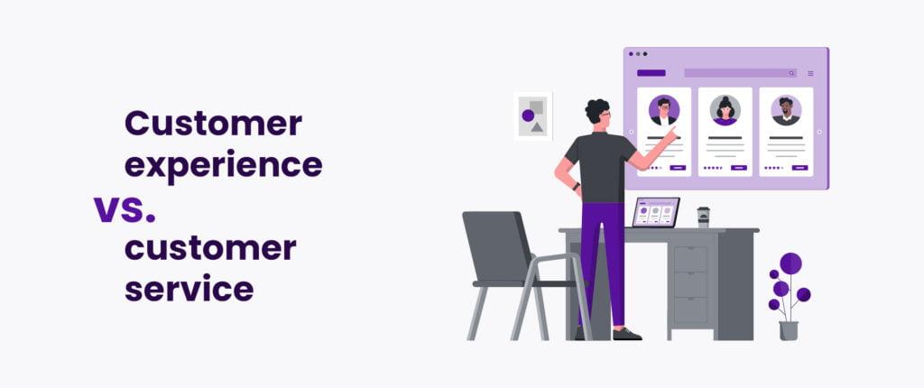 Customer experience vs. customer service