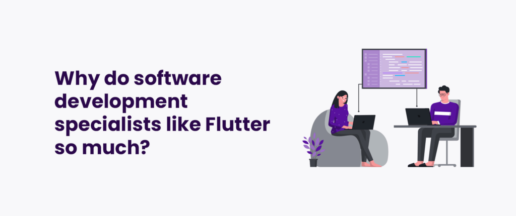 Why do software development specialists like Flutter so much?