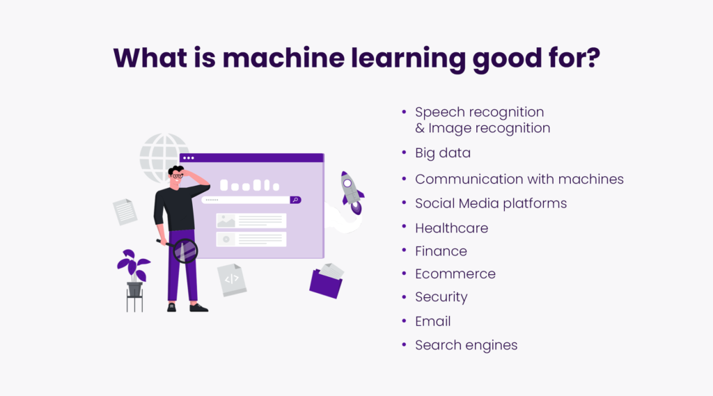 What is machine learning good for?